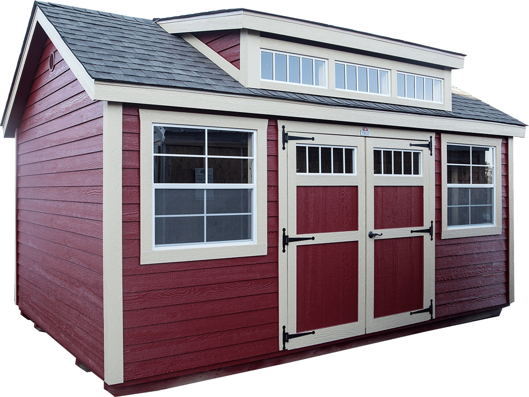 We Build Custom Buildings Unique To Each Customer Ask About Our Upgrades  Like The Transom Dormer
