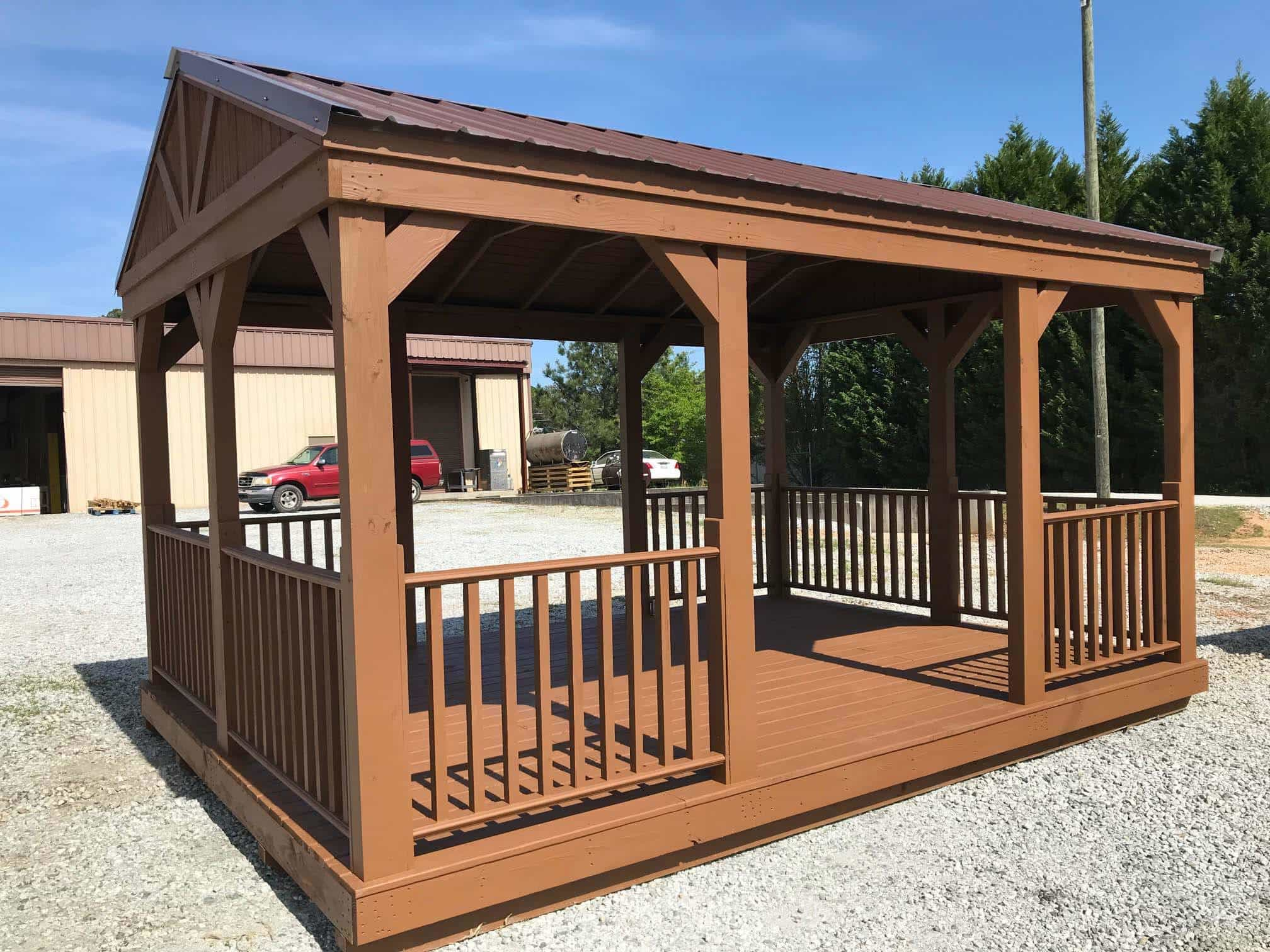 Wooden Backyard Cabana for Sale in Georgia, Free Delivery ...