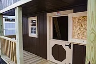Custom Built Wooden Playhouse