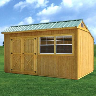 Treated Cottage Shed At Yard Barns