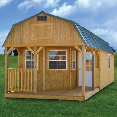 Affordable Modular Cabins For Sale Online Shed With Log Store