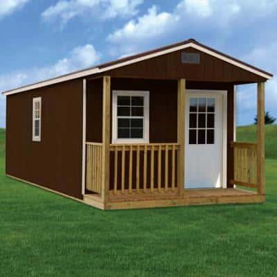 Stylish Painted Barn Cabin