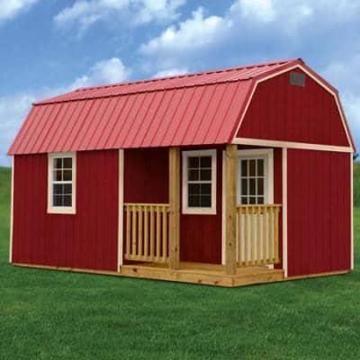Side Lofted Barn Cabin Near Georgia