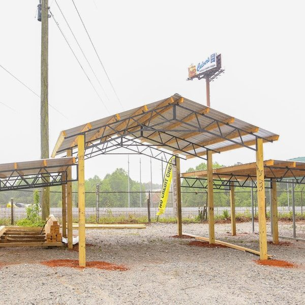 Metal pole barns