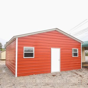 Metal Structures Build Barn