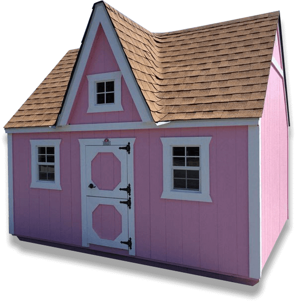 Custom Outdoor Playhouse Shed